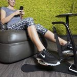 HOVR, kinetic exercise machine, machine for a desk, Indiegogo, burn calories, unconscious exercise