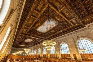New York Public Library Rose Main Reading Room, NYPL restoration, Stephen A. Schwarzman Building, Rose Reading Room