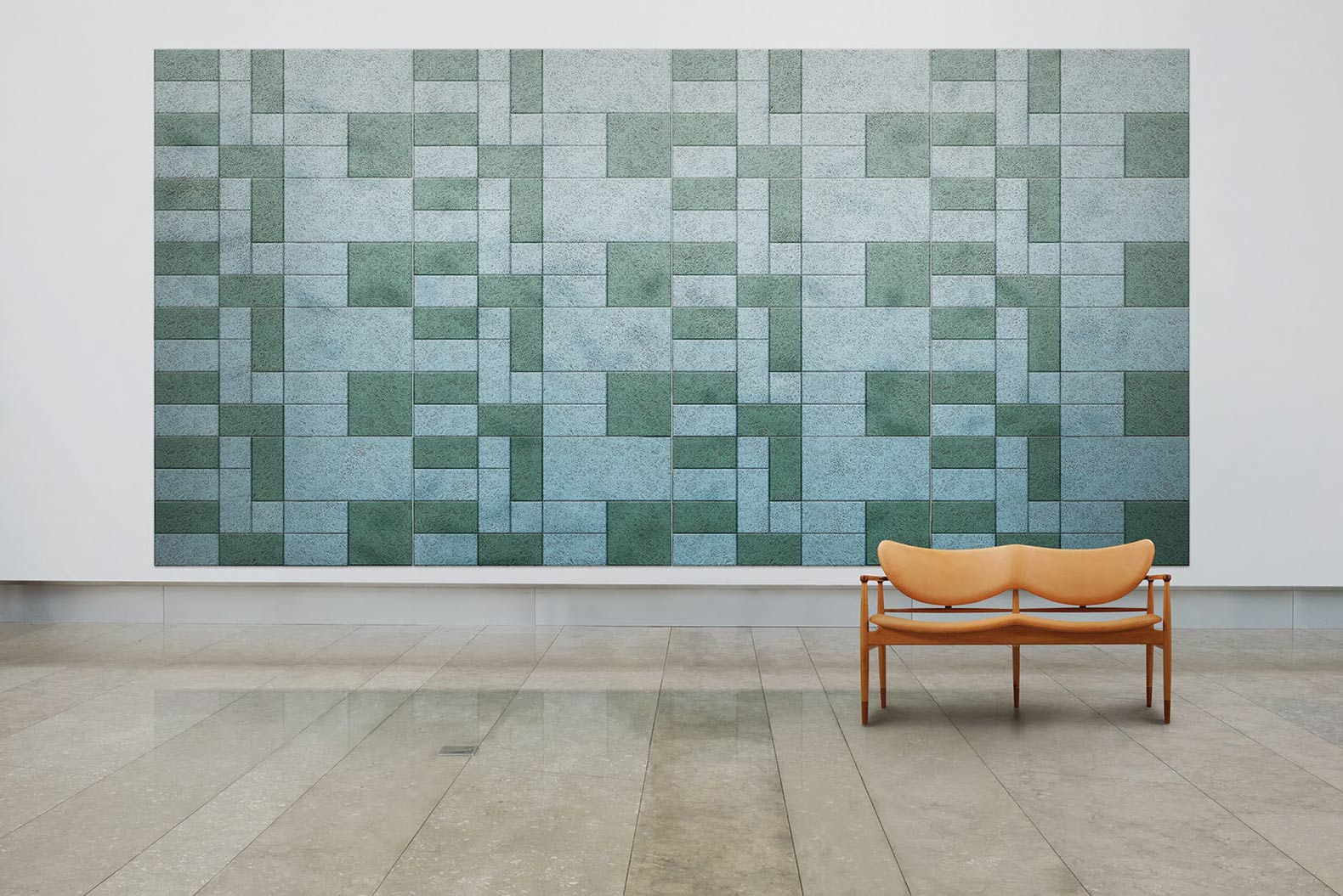 Wall Soundproofing Material : Stunning sound absorbing wall panels arranged form us with