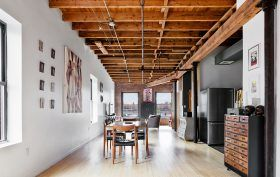 59 Green Street, loft, co-op, greenpoint, dining room