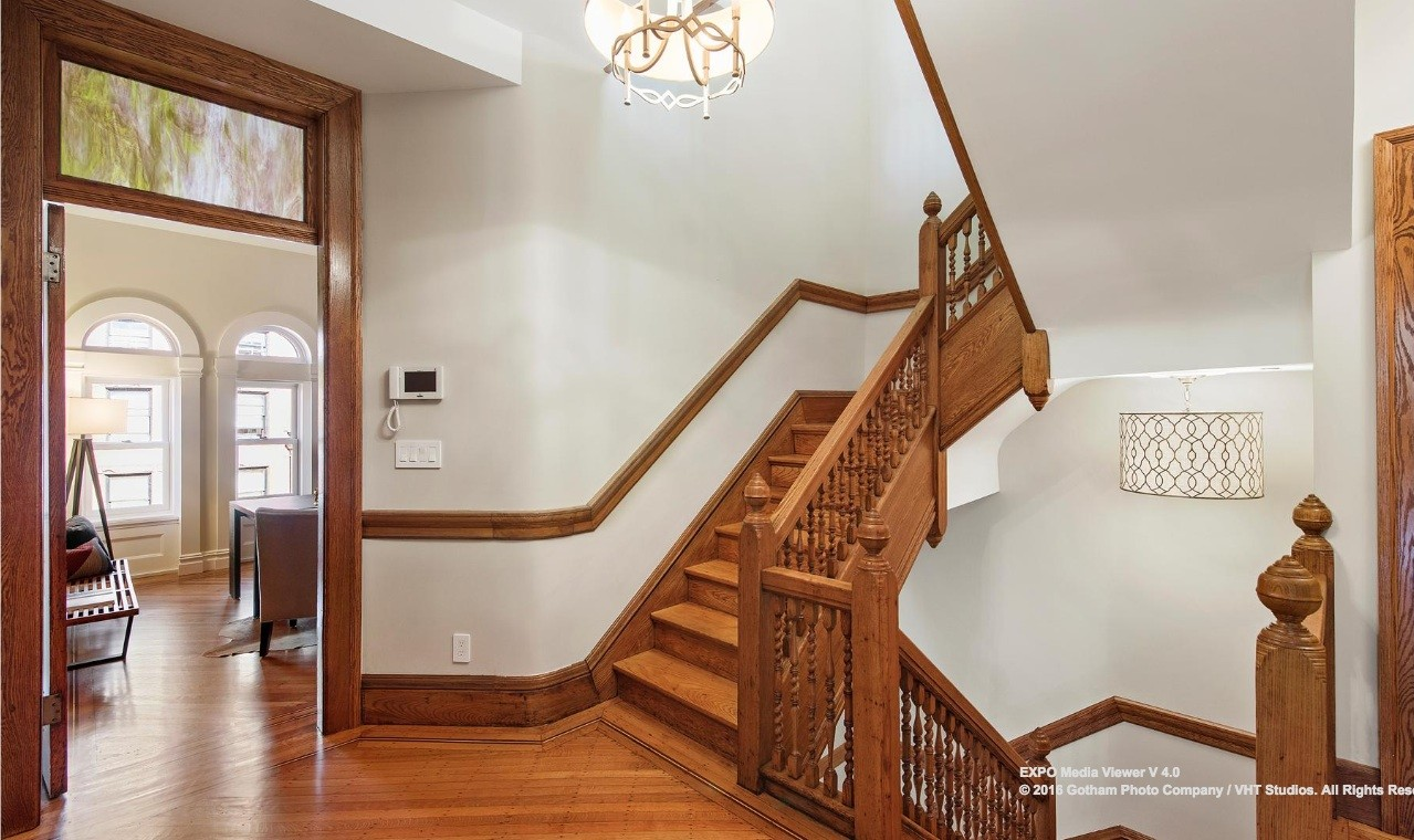 838 Carroll Street-staircase