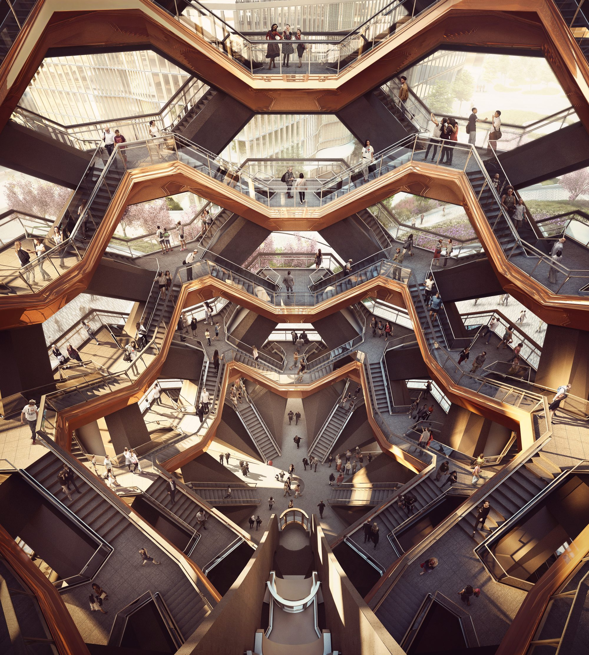 Thomas Heatherwick-Hudson Yards-Vessel-2