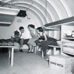 Interior of Bomb Shelter 1955