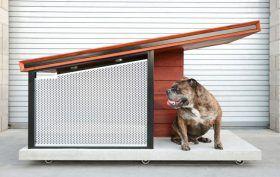 MDK9 Dog Haus, modern dog house, RAH:DESIGN