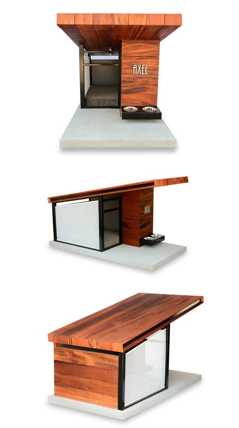 Mdk9 dog haus modern dog house rahdesign