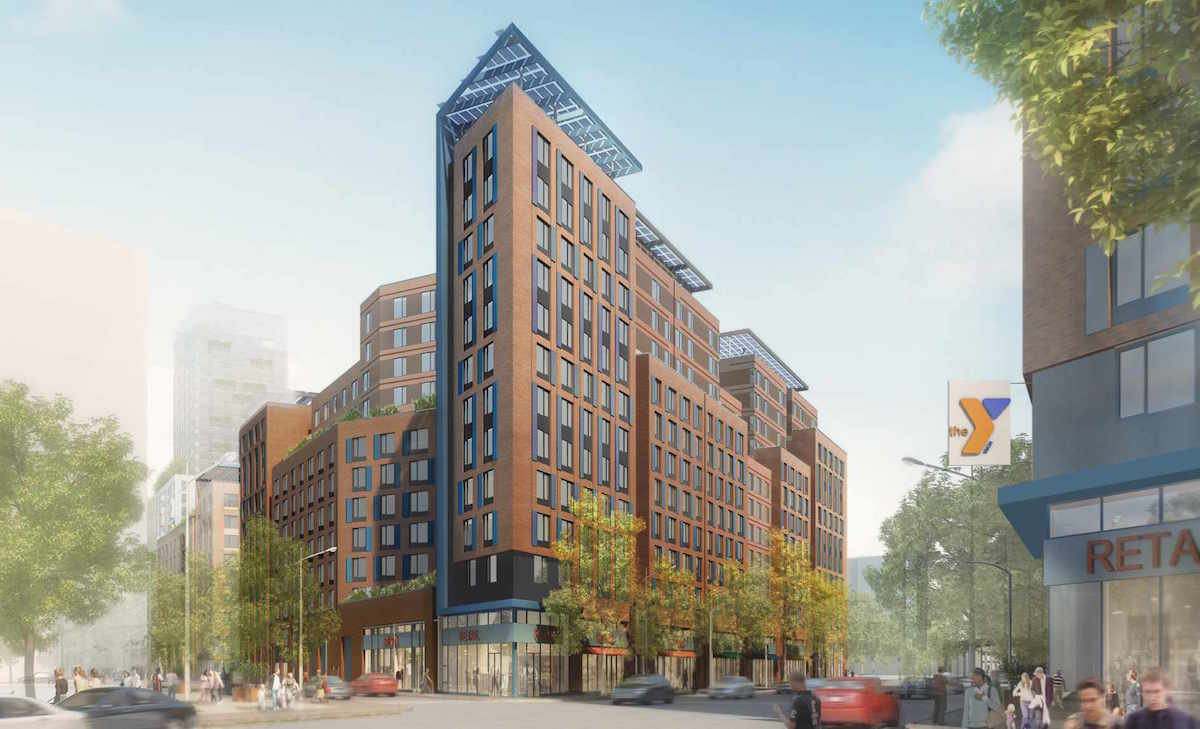 La Central, Bronx, Affordable Housing, mandatory inclusionary housing, Mayor de Blasio, MIH, YMCA, Melrose, city council, Rafael Salamanca, Melissa Mark-Viverito