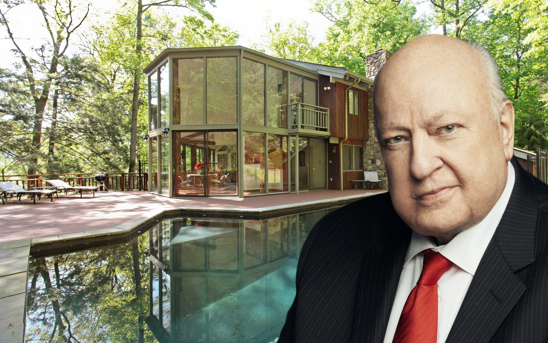 Ex-Fox News chair Roger Ailes tries to sell two Hudson