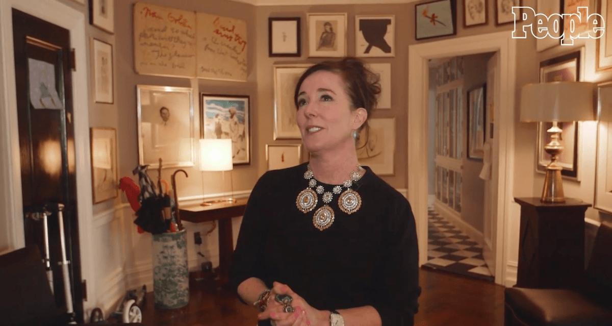 Video Visit Designer Kate Spade In Her Art Filled Unfussy Upper East Side Home 6sqft