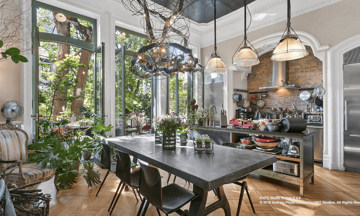 The Gorgeous Fort Greene Brownstone From Girls Looks Even Better