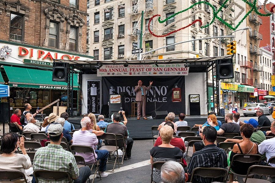 90th annual Feast of San Gennaro in Little Italy, little italy festival, nyc festivals, annual nyc street fairs, nyc street fairs