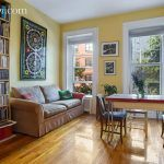 144 park place, studio, park slope, living room