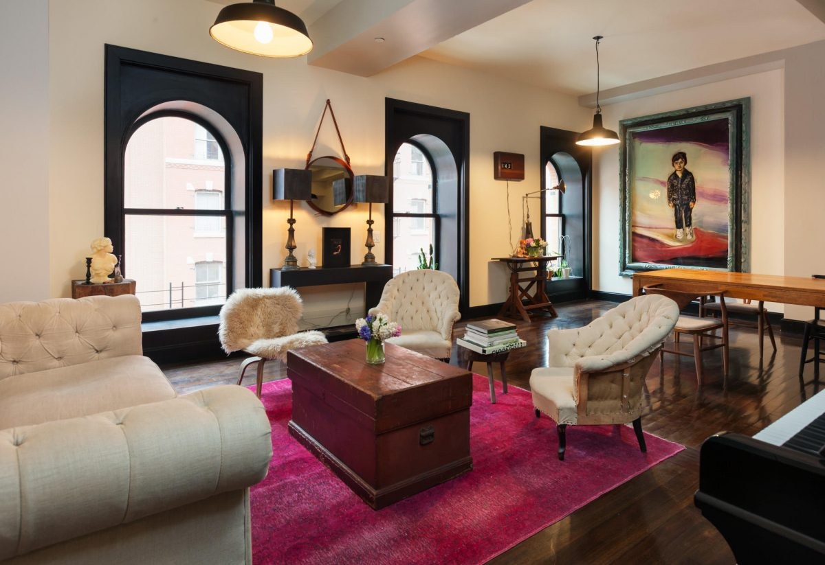 Posted On Thu, September 22, 2016 By Michelle Cohen In Celebrities, Cool  Listings, Interiors, Tribeca