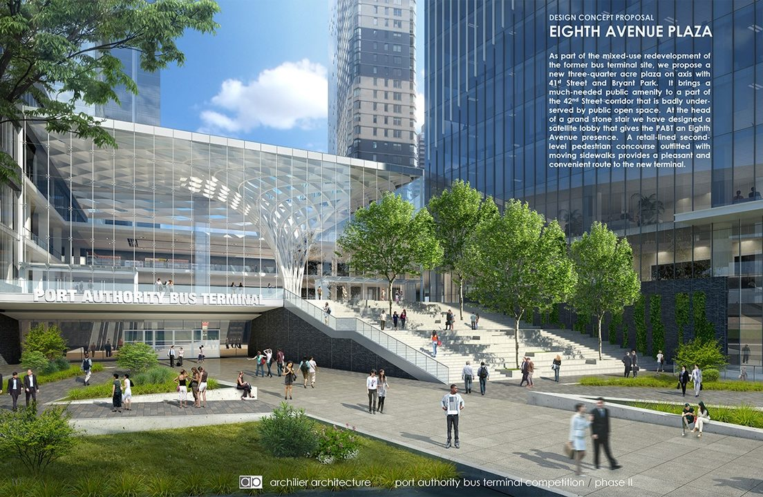 Port Authority Design Competition, Archilier Architecture Consortium