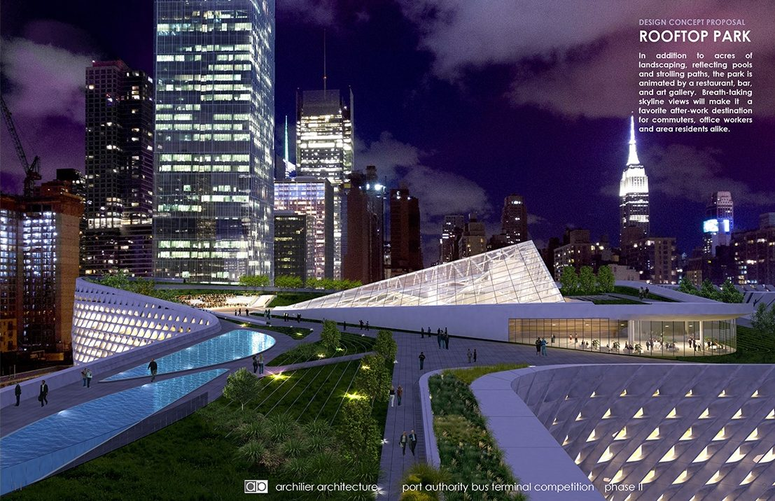 Architecture Design Authority revealed: port authority releases five design proposals for new