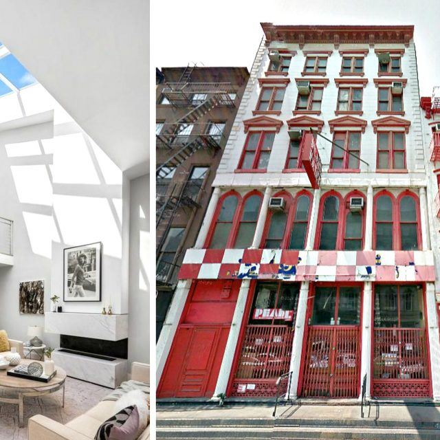 $7.75M penthouse with huge roof deck tops Tribeca's Pearl Paint-replacing condos