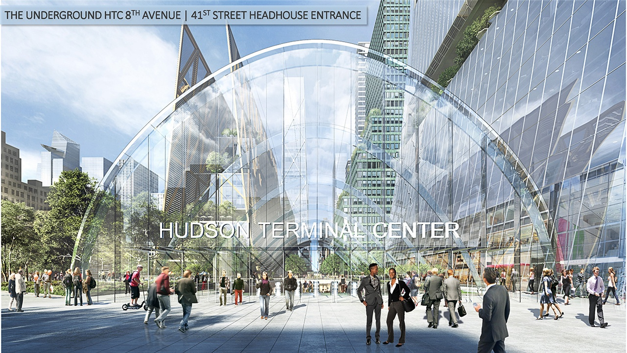 Port Authority Design Competition, Hudson Terminal Center Collaborative