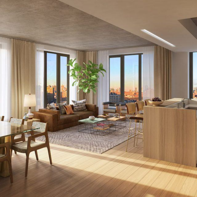 Sales have launched for LES luxury condos next door to Katz's deli for $1.075M and up