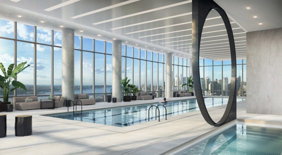 15 Hudson Yards-pool