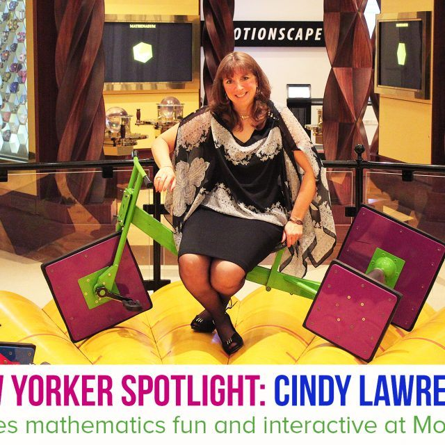 Spotlight: The Museum of Math's Cindy Lawrence on making math a fun and interactive endeavor