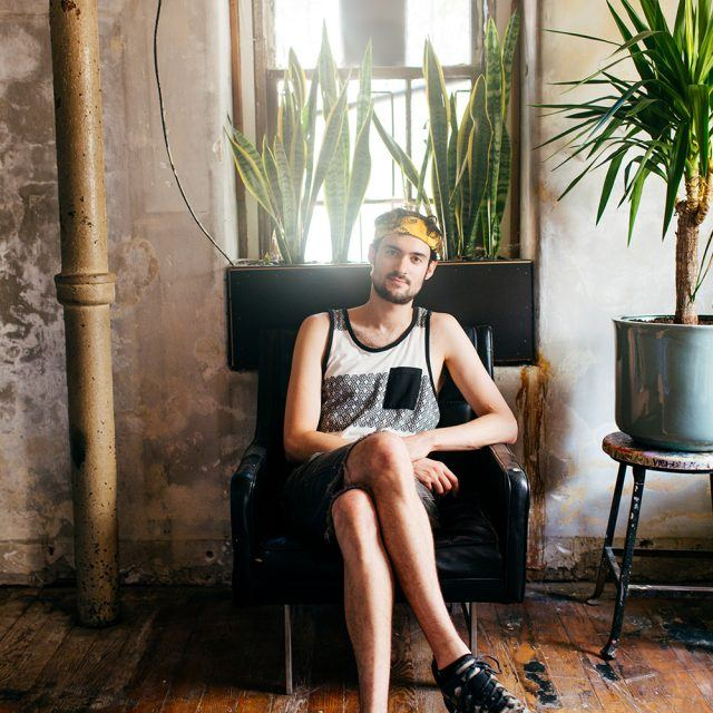 My 4000sqft: Inside artist Chad Lewine's 'minimal-vibrant' Brooklyn Navy Yard loft