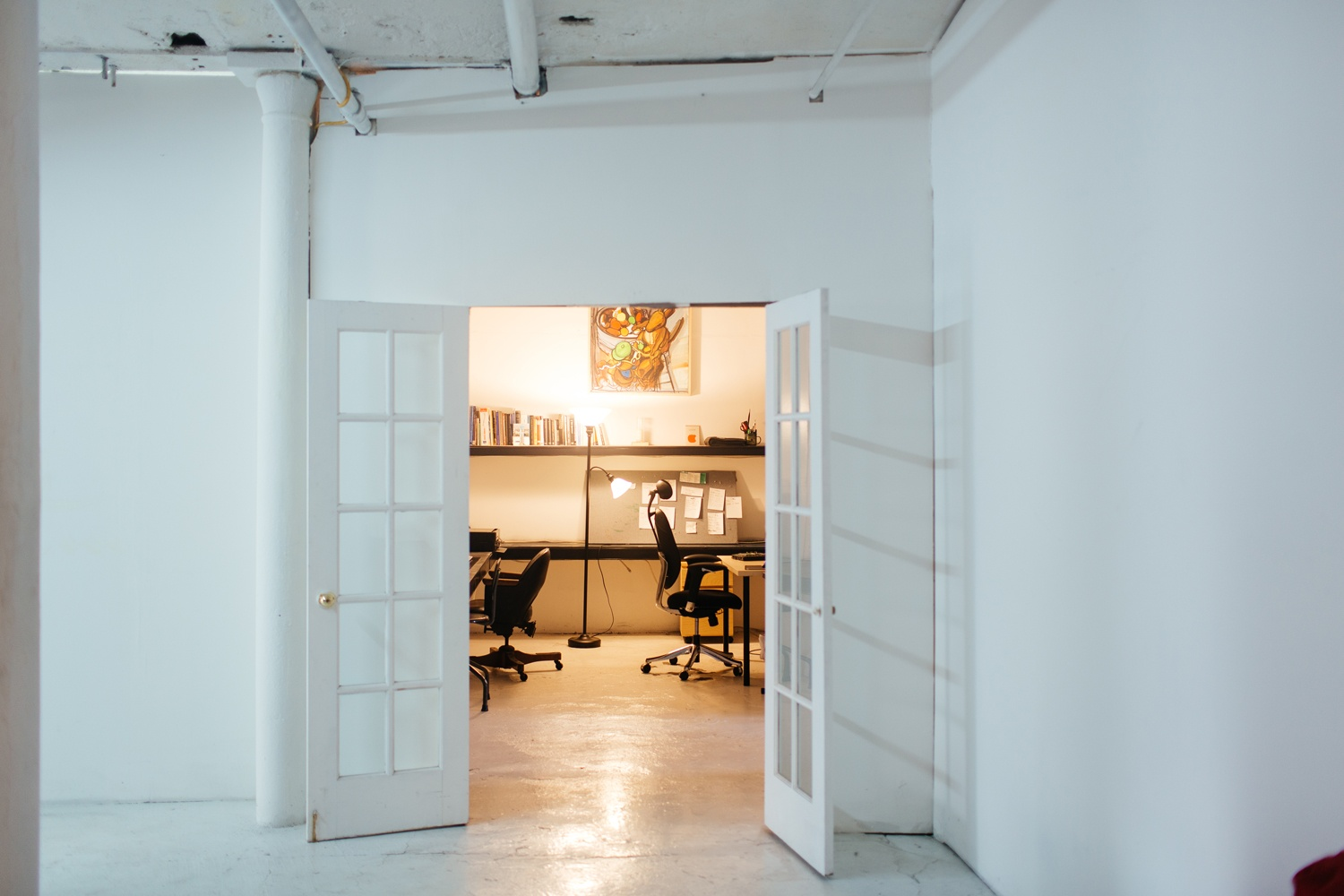 Artist-Chad-Lewine-Brooklyn-Navy-Yard-Loft-office2
