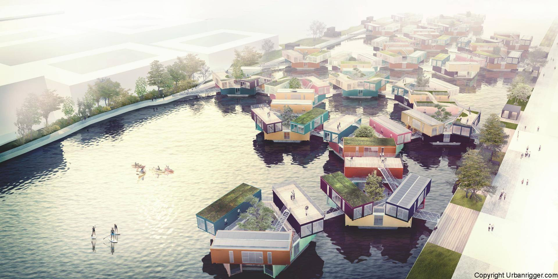 Bjarke Ingels, Urban Rigger, Kim Loudrup shipping container architecture, affordable student housing