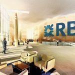The RBS lobby in Connecticut