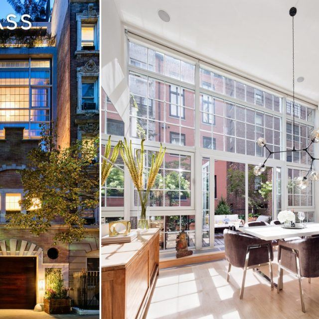 1890s carriage house fronts a glass-walled Gramercy home with six terraces for $16.8M