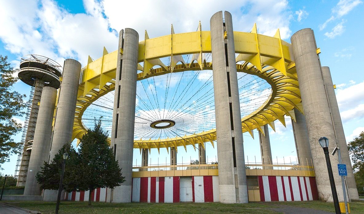 VIEW PHOTO IN GALLERY & Philip Johnsonu0027s New York State Pavilion to undergo $14.25M ...