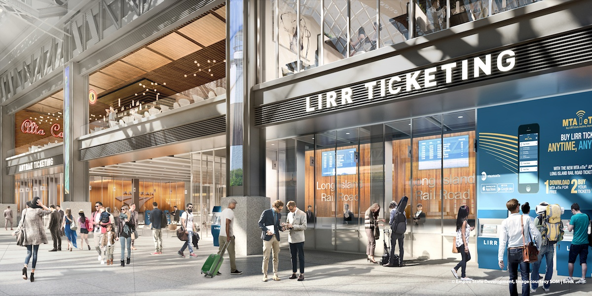 Work To Begin This Spring On Penn Station Moynihan Train