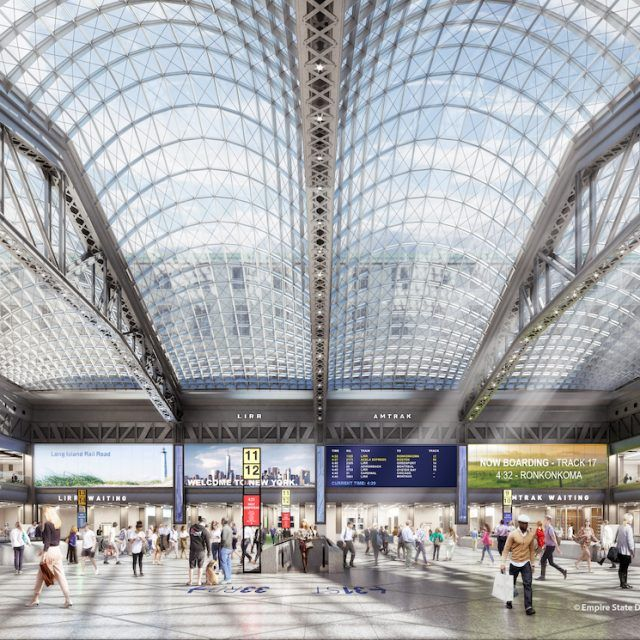 REVEALED: Governor Cuomo unveils plans for new Penn Station-Moynihan Train Hall complex