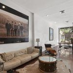 550 grand street, compass, williamsburg, condo, living room
