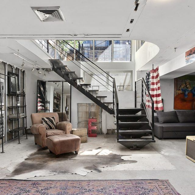 Modern Williamsburg condo with its own fire pit asks $1.89M