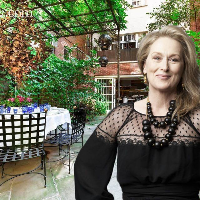 Meryl Streep's former Greenwich Village townhouse asks $28.5M
