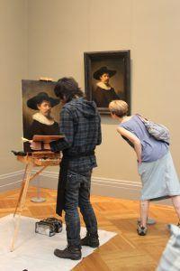 met museum copyist program, copying paintings, the metropolitan museum of art