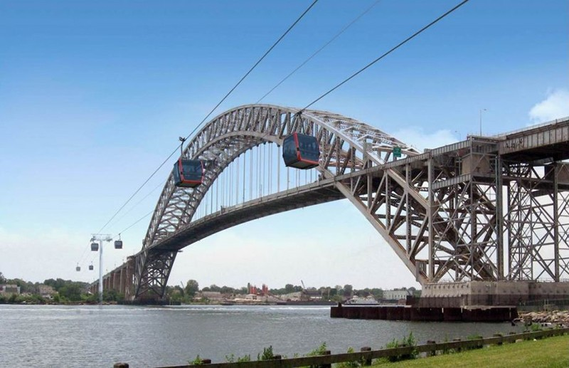 For one week only, get an up-close view of Staten Island's proposed aerial gondola