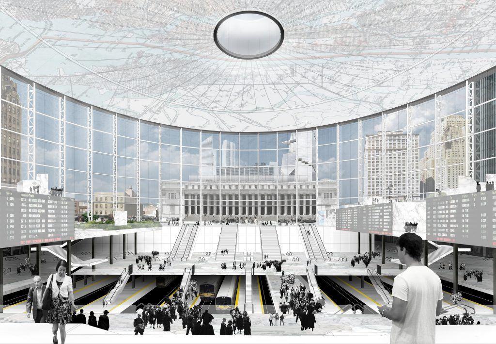 Vishaan chakrabarti reveals idea to repurpose madison - Penn station madison square garden ...