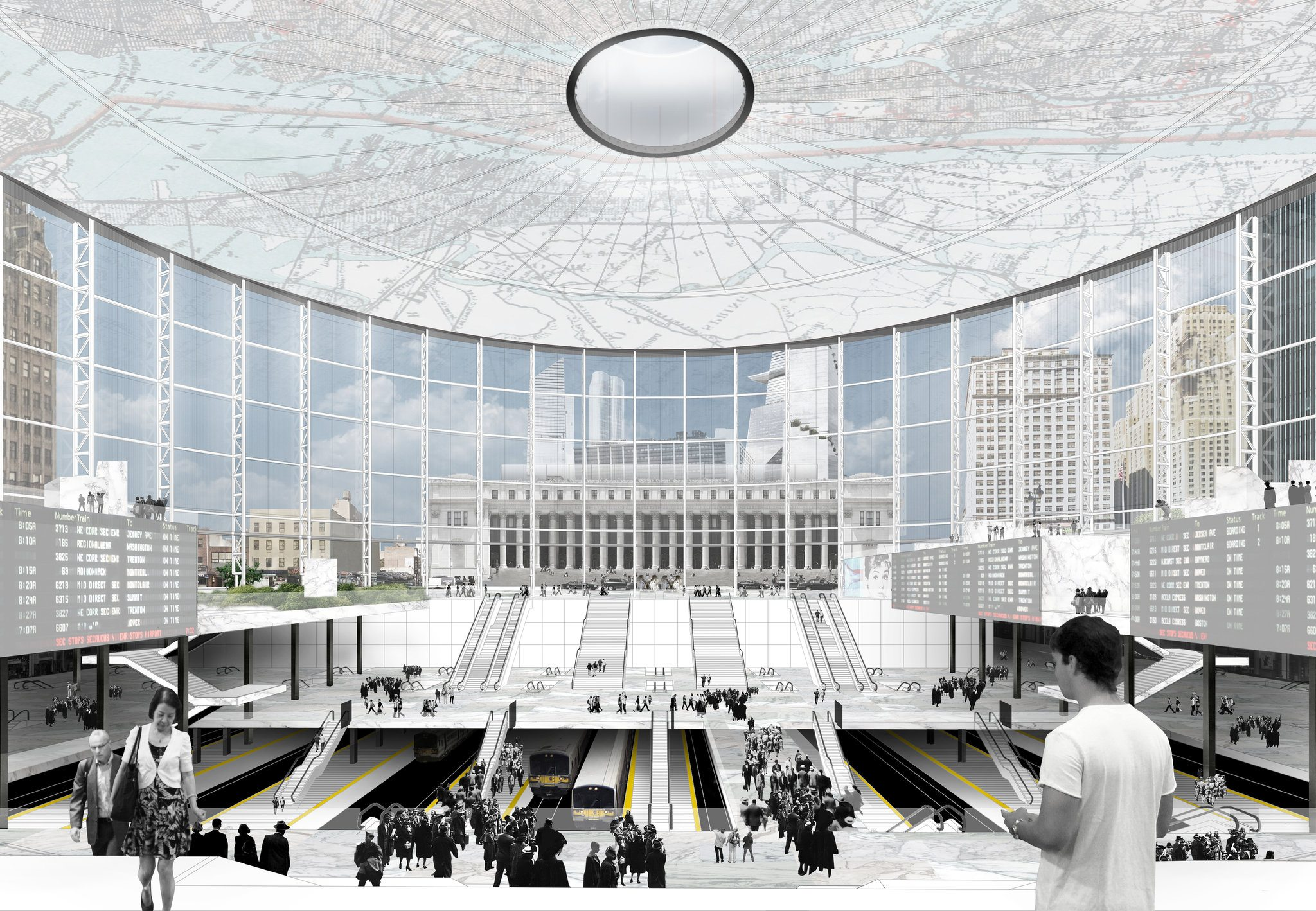 Vishaan Chakrabarti Reveals Idea To Repurpose Madison Square Garden As Part Of The Penn Station