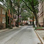 commerce street, aaron burr, cherry lane, federal rowhouse, NYC historic houses