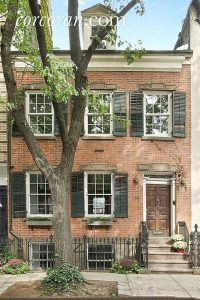 17 commerce street, aaron burr, federal rowhouse, NYC historic houses