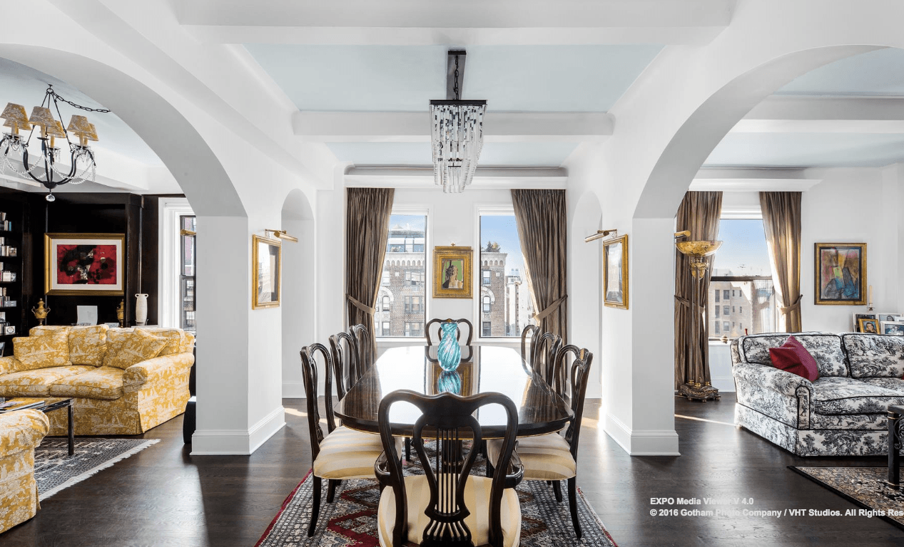 For $9.6M, an elegant Spanish Colonial condo awaits on the Upper ...