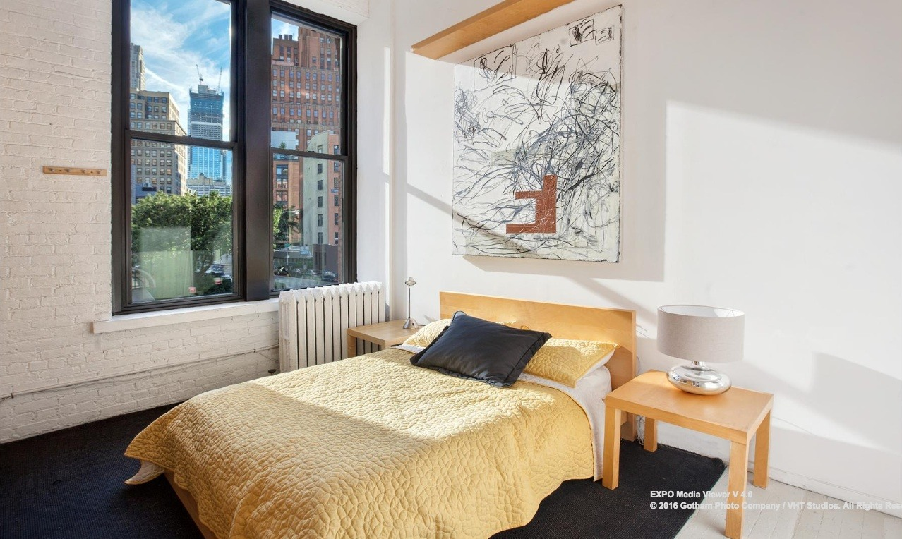 6 varick street, tribeca, bedroom