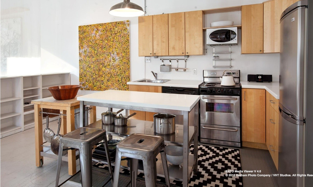 6 varick street, tribeca, kitchen