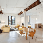 6 varick street, tribeca, living room