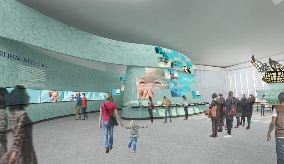 Statue of Liberty Museum, FXFOWLE, Liberty Island, NYC museum design