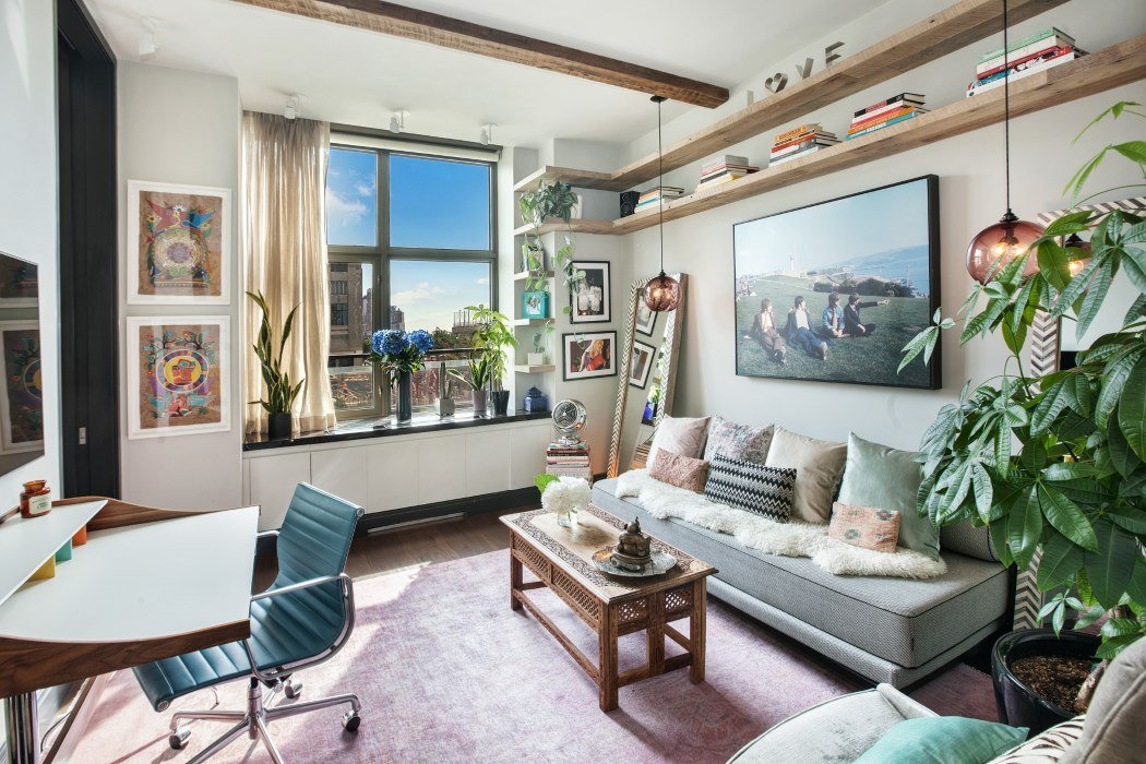 Erin Heatherton, Celebrities, Models, West Village, Closets, Interiors, cool listings, condos for sale, 1 morton square