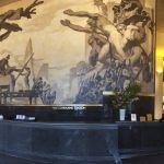 """American Progress"" by Jose Maria Cert. Mural that replaced Rivera's mural in Rockefeller Center."