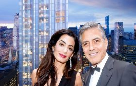 george amal clooney's nyc apartment