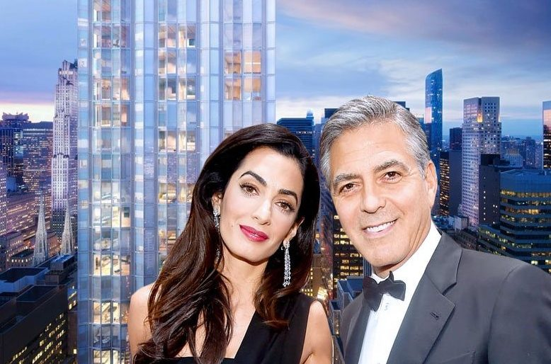 George and Amal Clooney snag high-floor condo in Norman Foster's