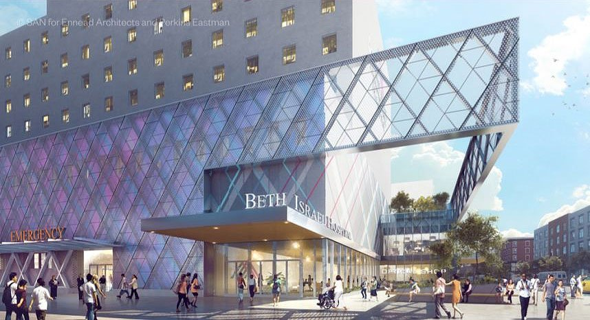 Plans and renderings revealed for Mount Sinai's downtown